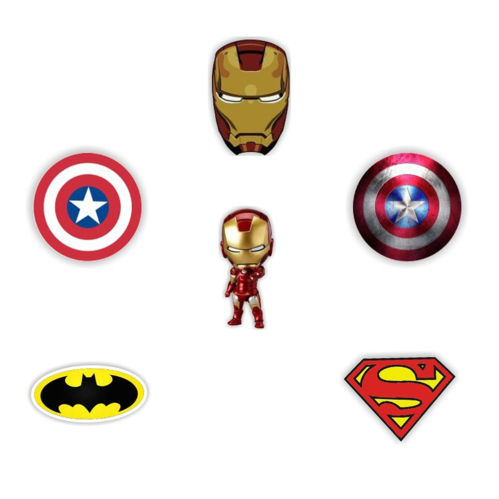 MISC: ASSORTED SUPERHERO PINS (NEW)